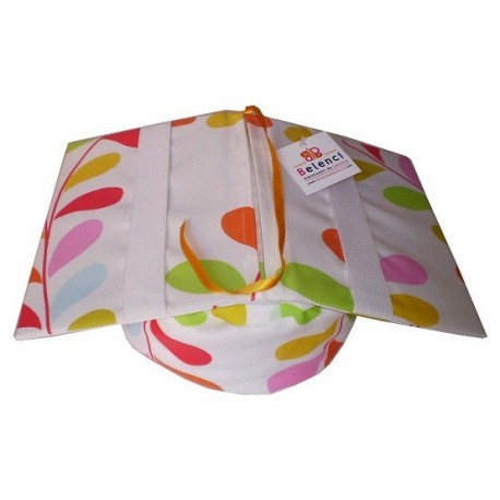 colorful leaves Reading Cushion