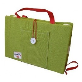 Green Portable Book Protector